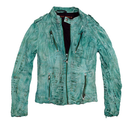Blue Monkey Lederjacke
